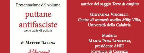 """PUTTANE ANTIFASCISTE NELLE CARTE DI  POLIZIA"""