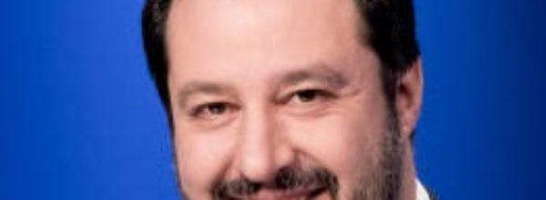 Salvini statista e uomo  delle istituzioni