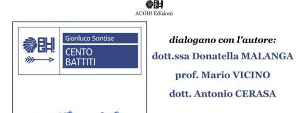 """""""Cento Battiti"""", il cardiochirurgo   SANTISE a  Cosenza per presentare il suo libro"""