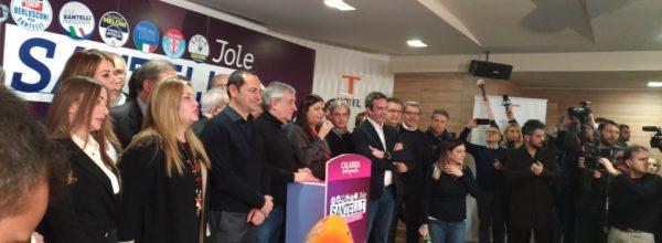 Jole Santelli,  presidente della Regione Calabria. E' la prima donna presidente di una regione dell'Italia Meridionale.