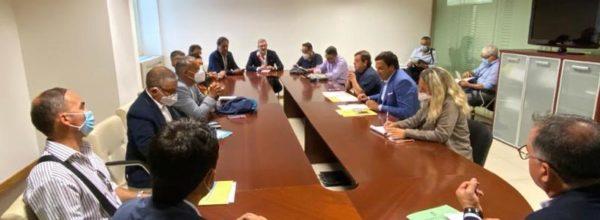 Regione, riunione  tra Fausto  Orsomarso – assessore al lavoro  e organizzazione sindacali