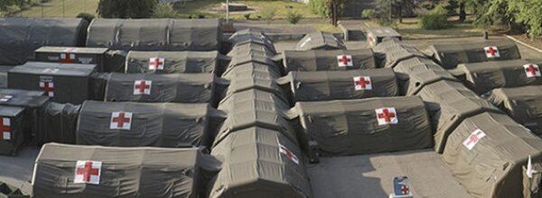 Covid in Calabria, in arrivo 4 ospedali da campo per l'emergenza