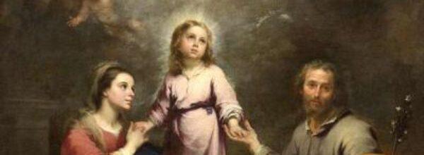 domenica 27 Dicembre 2020  Festa della Santa Famiglia di Gesù, Maria e Giuseppe. Avvenne oggi