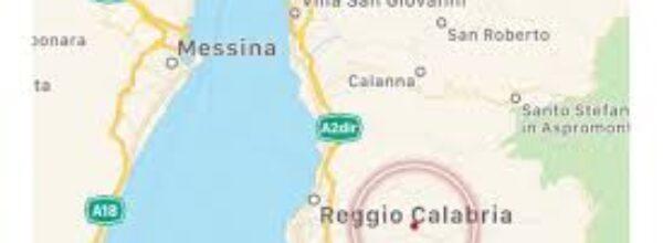 Una scossa di terremoto è stata  avvertita, alle ore 11.57 di oggi, 19 dicembre,    a Reggio Calabria e Messina.