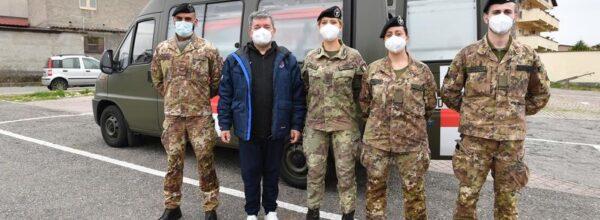 Vaccini anti-Covid, arrivato il team sanitario dell'Esercito – I militari si occuperanno della somministrazione a favore di over 80 e persone fragili. Il presidente Spirlì: «Supporto importante»